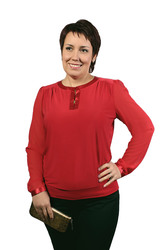 Оптовые,  мелкооптовые поставки женской одежды (блуза) больших размеров